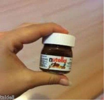 NEW MINI NUTELLA 25g x 64 - Best Before APR 2018