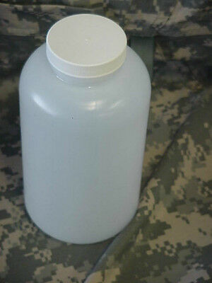 New 32 Oz Prepper Style Plastic Container, Natural