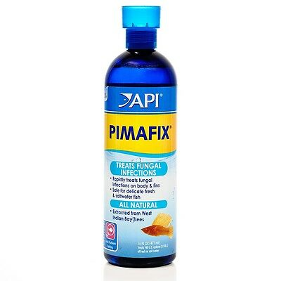 Api Pimafix Anti Bacterial Fungus Aquarium Fish Tank Treatment 237 Ml