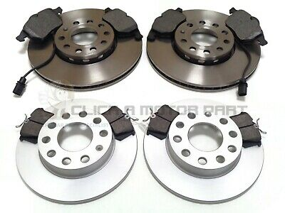 AUDI A4 1.9 TDi B6 QUATTRO 2000-2004 FRONT & REAR BRAKE DISCS AND PADS SET NEW