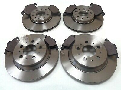 Volvo S80 I 2.4 D5 Saloon 182bhp Front Brake Pads /& Discs 305mm Vented