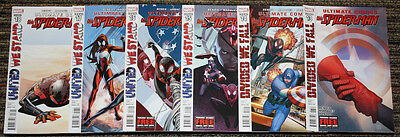 Ultimate X-Men / Spider-Man & Ultimates - Divided We Fall / United We Stand SET