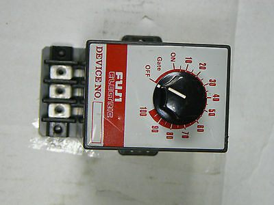 Fuji Electric APR-MINI Type RPHE206A Solid State Relay Contactor Timer