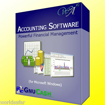 NEW Financial Accounting Bookkeeping Software | Personal or Small Business Use