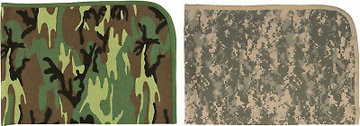 Camouflage Infant Receiving Baby Cotton Blanket
