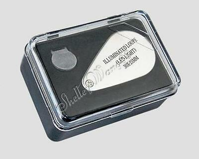 30x 21mm Jewelers Loupe Magnifier Magnifying LED Light