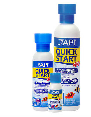 Api Quick Start 30Ml 118Ml 237Ml Fish Tank Aquarium Water Conditioner Bacteria