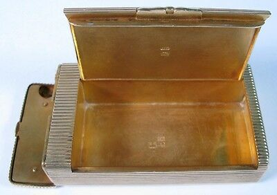 Imperial Russian Gold Silver 84 Vesta Case Lighter Moscow Tobacco Klingert