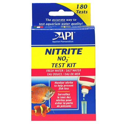 Api Fresh & Salt Water Nitrite Fish Tank Test Kit 180 Tests