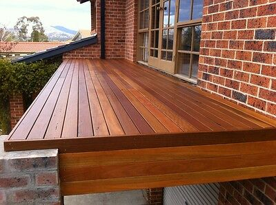 DECKING - RECYCLED HARDWOOD - 85 x 19mm - Mixed Reds