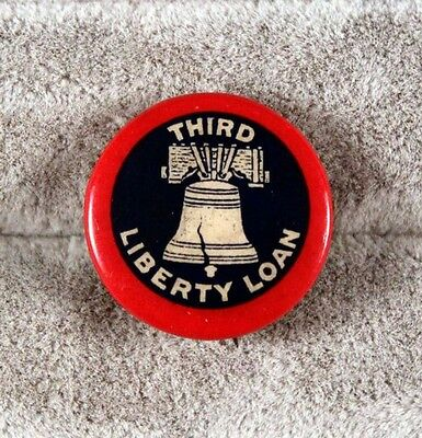 Home Front: Pin - Third Liberty Loan - WWI