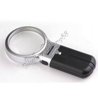 Portable Folding Magnifying Light LED Magnifier 3 in 1