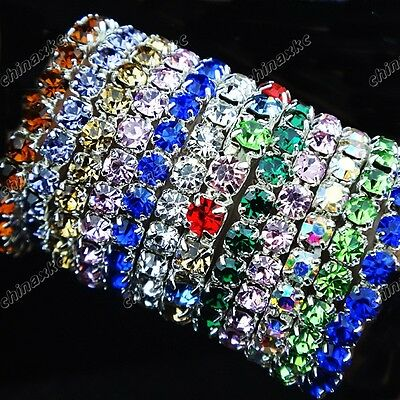 Hot sell Wholesale Jewerly Lots 30pcs Mix color Full Czech Rhinestones Rings