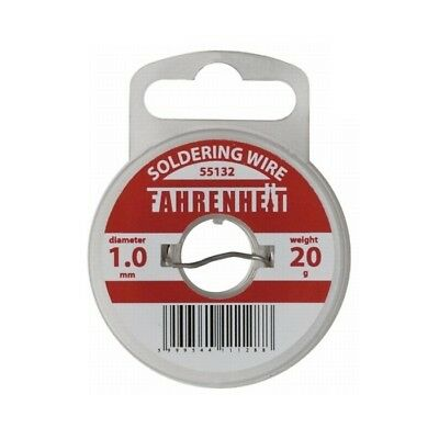 55130 Quality Solder Wire 60/40 SN (Tin)/PB (Lead) with 2.0% Flux 0.8 - 3.0mm