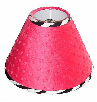 Lamp Shade - Hot Pink Zebra by Sisi