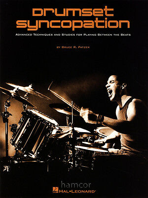 Drumset Syncopation Advanced Techniques & Studies Drum Tuition Music Book Patzer
