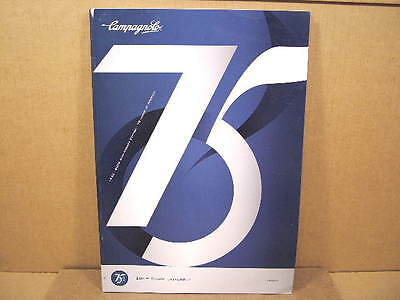 "2008 Campagnolo ""Campy"" Catalog (8""x12"" and 134 Pages)"