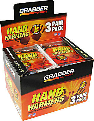 Grabber Warmers Big Pack 7 + Hours Hand Warmers, 80 Grabber 40 Pairs