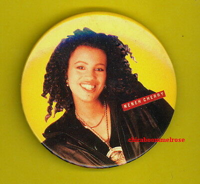 Neneh Cherry 1990 pinback button badge SS unused MINT CONDITION