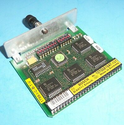 Bosch Software Module 1070081647-101 *Pzf*