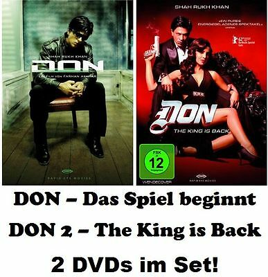 Don - Das Spiel beginnt + Don - The King is Back - im Set, 2 x DVD NEU + OVP!