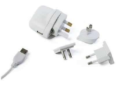 Hahnel Xtras for iPod USB World Travel Adapter Pack with Interchangeable Plugs
