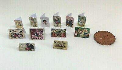 DD430 Additional Items P/&P FREE Dolls House Miniature 2 Skeleton Hangings