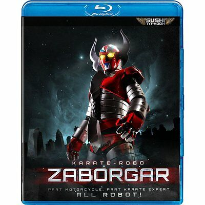 Karate-Robo Zaborgar [Blu-ray New](WGU01315B)