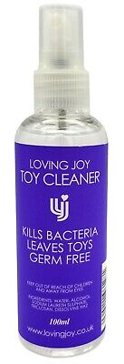 SEX TOY CLEANER 100ml Water Based Hygiene Sexual Health
