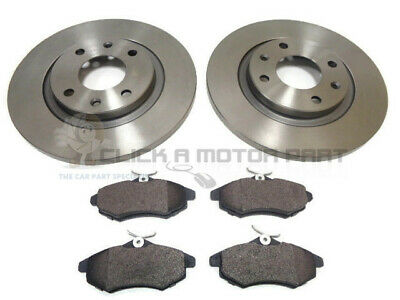 C5 Est 1.6 Hdi 04-07 Front Rear Brake Discs Black DimpledGrooved Mintex Pads