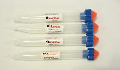 4 new universal envelope moistener letter sealer pencils with sponge tip licker