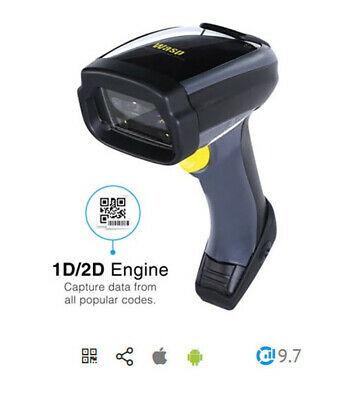 Wasp WWS800 Freedom Cordless  Barcode Scanner USB KIT