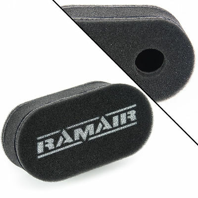 1 x RAMAIR Carb Sock Air Filter Double Trumpet Weber DCOE Dellorto DHLA CS-906
