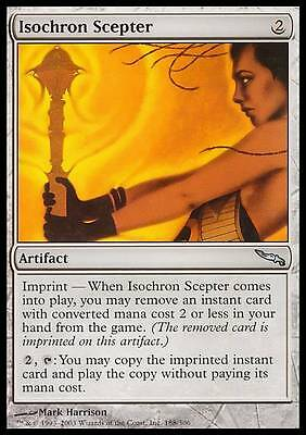SCETTRO ISOCRONO - ISOCHRON SCEPTER Magic MRD Mint