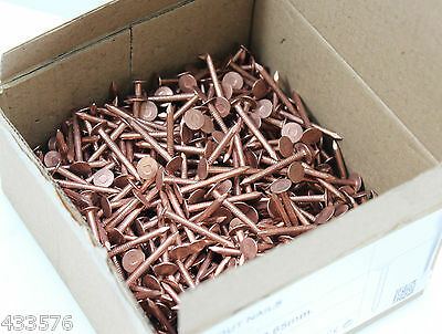 25 Copper Nails Clout Head Tree Stump Killer Roofing DIY ETC 5 Sizes Available