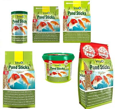 Tetra Pond Floating Fish Food Sticks Goldfish & Koi Stick