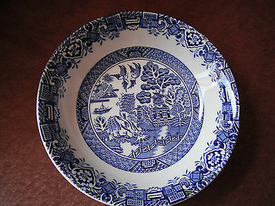 Wood & Sons  Willow  Blue & White Small Bowl Made in England