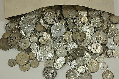 5 Standard Ounces 90% Silver U.S. Junk Coins FREE Shipping MAKE ME AN OFFER NOW