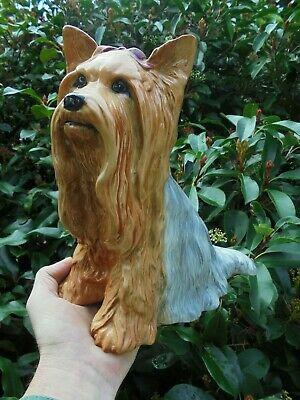 Vintage Beswick Fireside Yorkshire Terrier Dog - Perfect