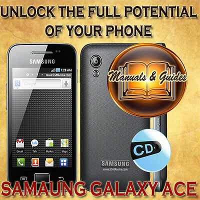 Samsung Galaxy Ace S5830 User Guide Manual/video Tutorials/tips & Software On Cd