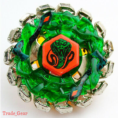 POISON SERPENT BB-69 Fusion Masters Fight Beyblade+HEAVY METAL FACE BOLT MF
