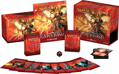 Gatecrash Fat Pack Magic MTG Cards | 9 Booster Guide Counter Deck Box and more!