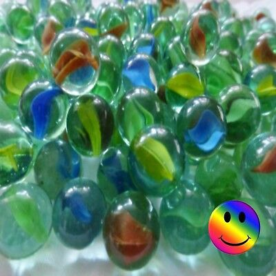 Glass Marbles 16 mm Various Pack Sizes  10 - 20 - 50 - 75 - 100 + FREE SHOOTER