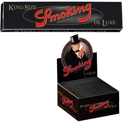Papel Smoking slim king size 110mms. papel largo para liar tabaco , fumar,50 l.
