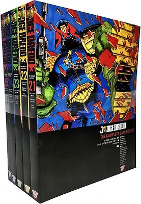 John Wagner Collection Judge Dredd Complete Case Files Volume 21-25 Books Set
