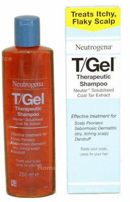 1 x 250ml TGEL T/GEL SHAMPOO  NEUTROGENA NEW T-GEL HAIR SCALP TREATMENT
