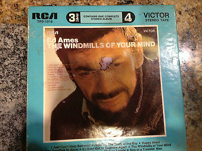 """ED AMES """"The Windmills Of Your Mind"""" REEL TO REEL R TO R W/PIC BOX"""