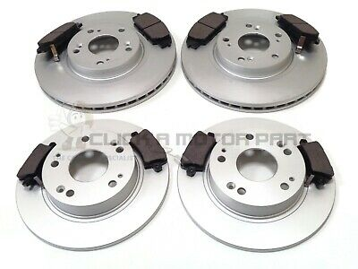HONDA CIVIC 2.0i V-TEC TYPE-R GT FN2 06-11 FRONT & REAR BRAKE DISCS AND PADS NEW