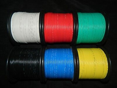 14 Gauge Wire Pick 4 Colors 25 Ft Ea Primary Awg Stranded Copper Power Remote