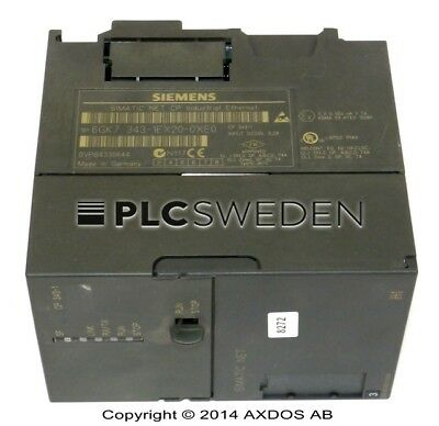 Siemens 6GK7 343-1EX20-0XE0, Used, 6GK73431EX200XE0, Fast Shipping
